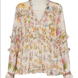 2Day Only! Spell & the Gypsy Wild Bloom blouse M